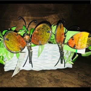 🦋NWT Beautiful Butterfly Pot Perchers🦋